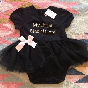 little black dress onesie